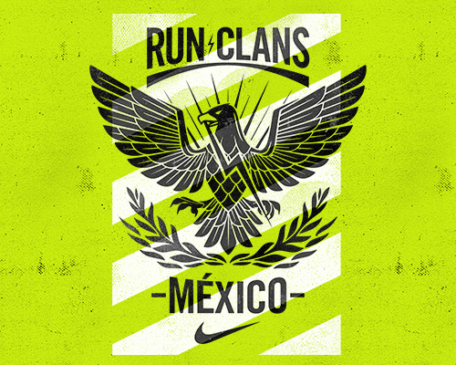 NIKE run clans ——11大部族决战墨西哥城