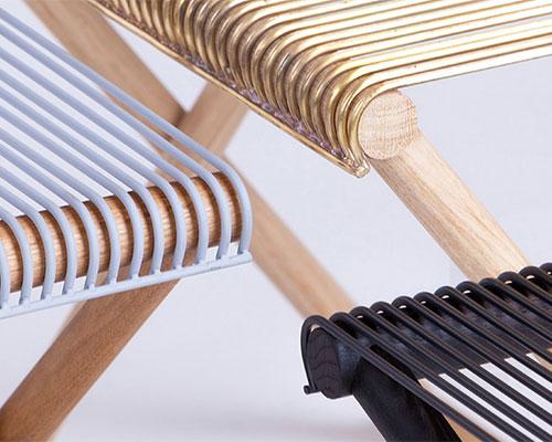 revesz和tantangelo合作设计出mingardo版橡木金属支架系列