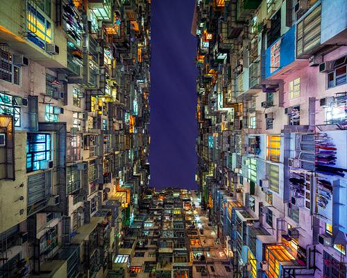 Peter Stewart 镜头下的香港公屋建筑