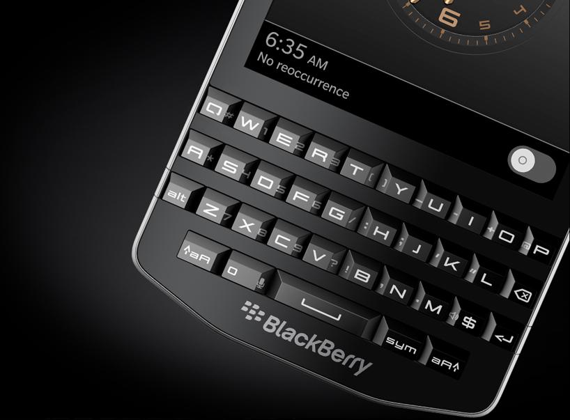 porsche design blackberry P'9983-designboom-03