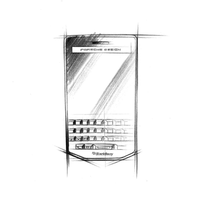 porsche design blackberry P'9983-designboom-06