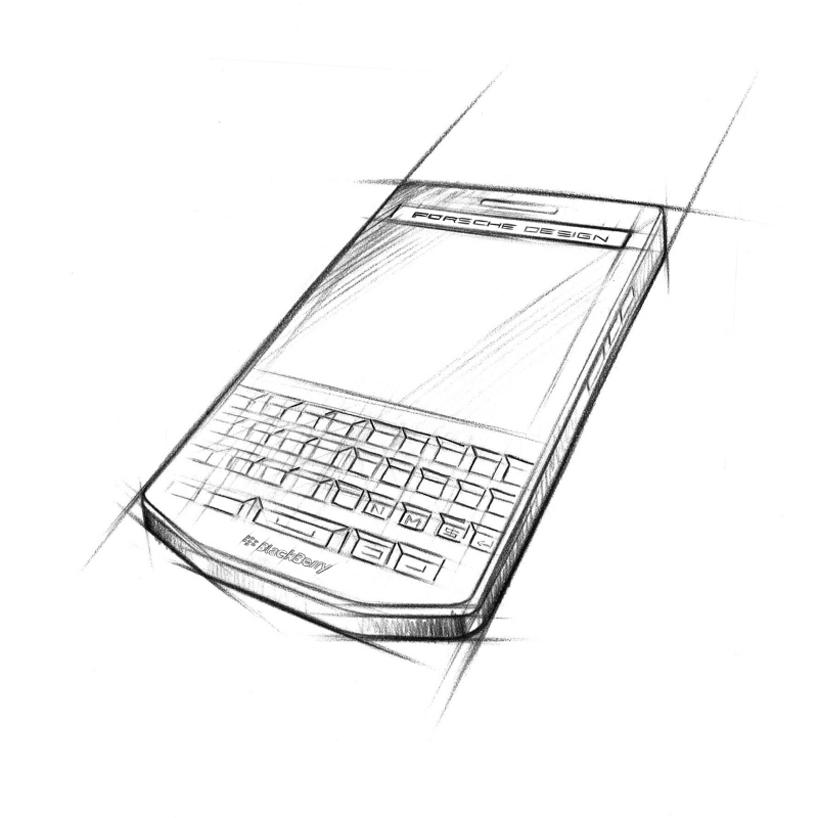 porsche design blackberry P'9983-designboom-07