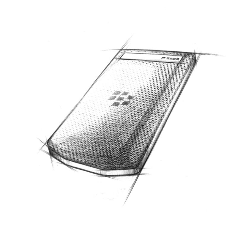 porsche design blackberry P'9983-designboom-08