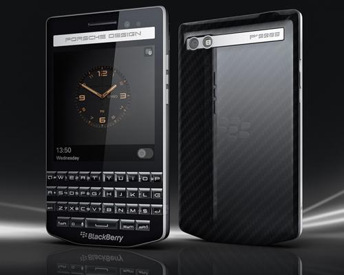黑莓与保时捷合作发布新款智能手机 P'9983 ,展现了奢华无比的汽车品牌特色