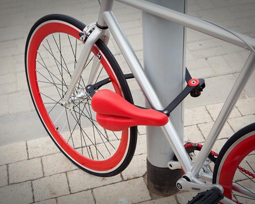 """seatylock""让自行车座垫变车锁:不再担心遗忘或是被盗,如此一举两得"