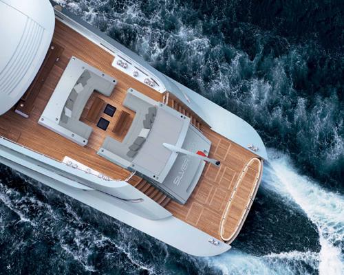 Silver Yachts在本届摩纳哥游艇展上带来了新型号:采用生态能源长77米的豪华游艇 Silver Fast