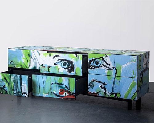ariel zuckerman 的街头捕捉项目使用涂鸦作为家居外观