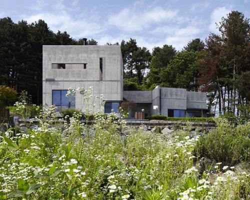 """studio_GAON建筑设计事务 在首尔落成""""尊重与幸福""""混凝土住宅"""