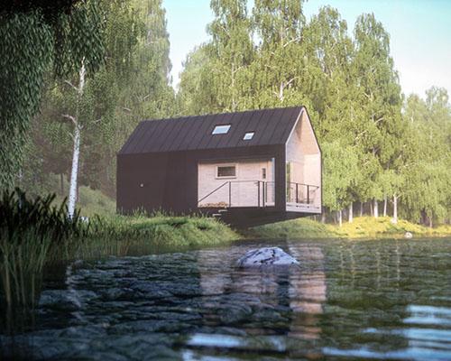moxon architects建筑事务所打造原生态隐居小屋