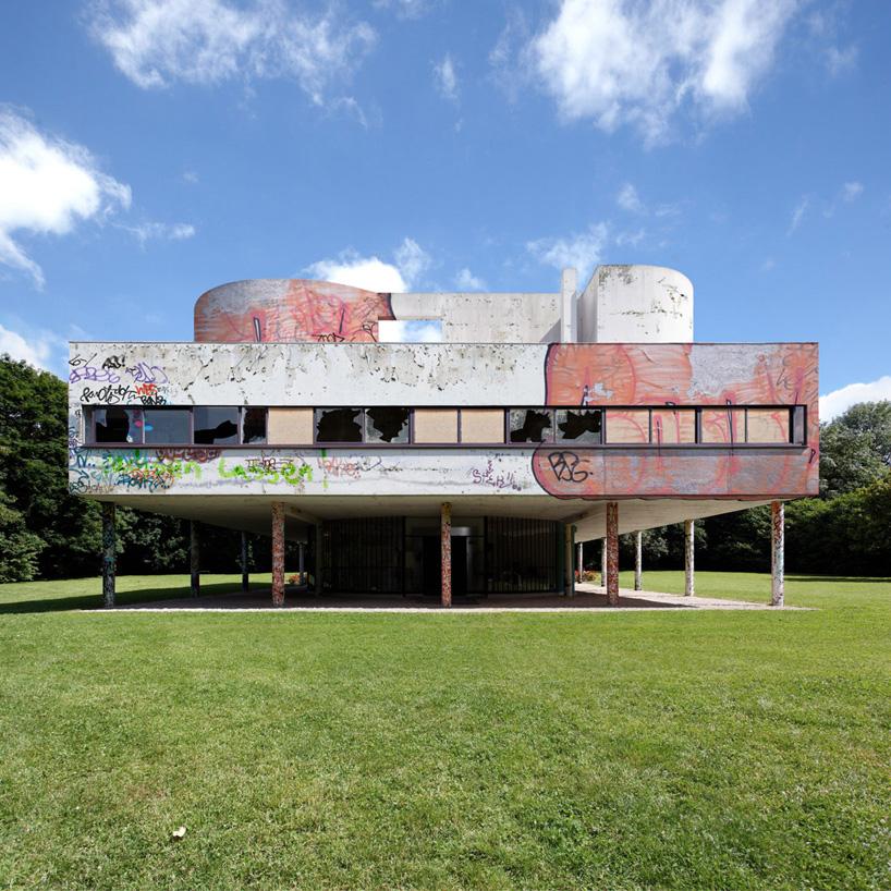 Pilgrimage on modernity villa savoye le corbusier designboom 02