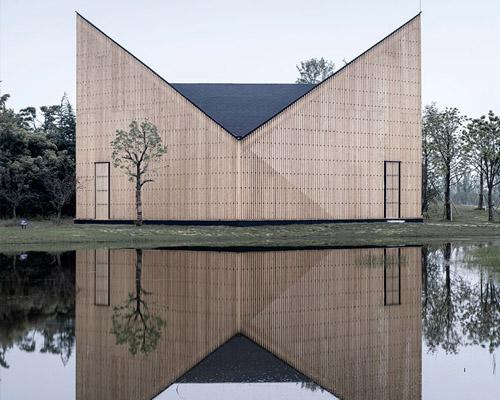 AZL事务所用对称形体和光线塑造南京望京 礼拜堂