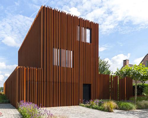 "DMOA 建筑事务所用耐候性钢片打造的""柯尔顿住宅"""