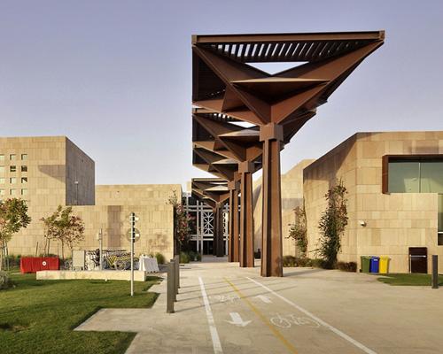 多哈HBKU大学 学生 活动中心——legorreta + legorreta设计
