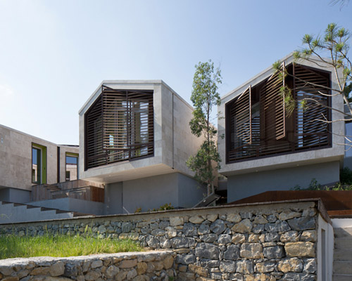 NBJ 建筑事务所在法国将三间房子进行排列组合,打造出NB住宅