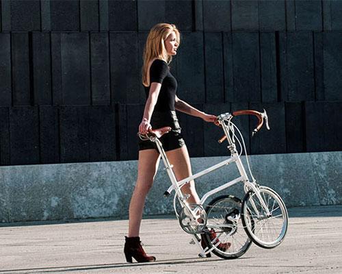 VELLO :高性能,手工制作,磁性折叠自行车
