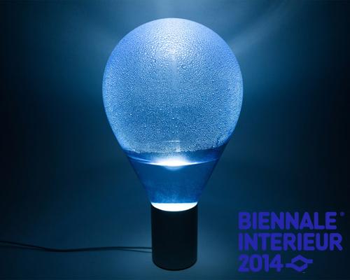 arturo erbsman用水的凝结效果设计的灯具 atmos