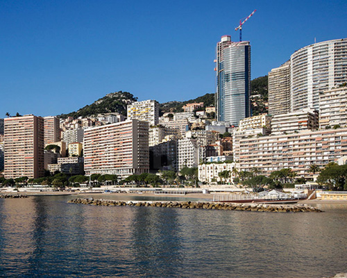 摩纳哥 最高建筑---tour odéon顶楼豪宅即将完工