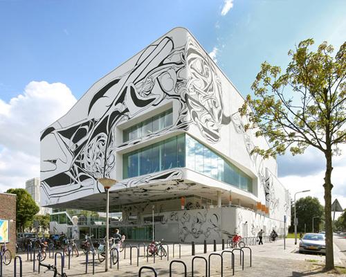 venhoevenCS 事务所融合建筑与艺术,设计了drieburcht体育中心