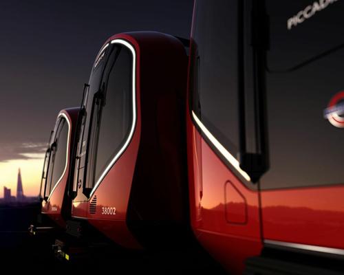 priestmangoode 和 TFL设计无人驾驶 伦敦地铁 列车