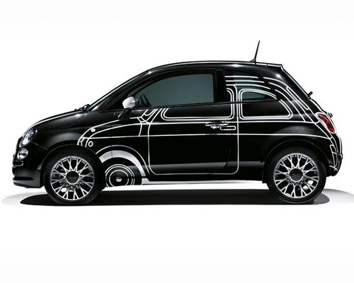 菲亚特 500独家推出三款各具特色的特别版精致个性小车