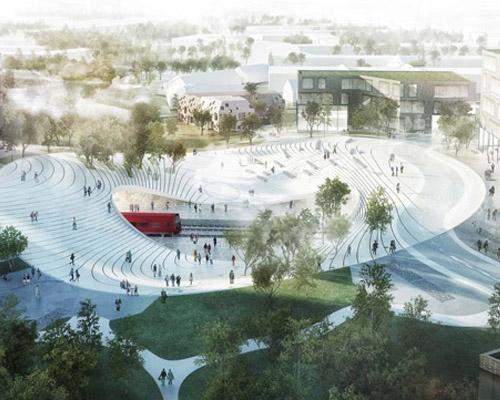 亨宁·拉尔森建筑事务所为vinge打造未来 火车站
