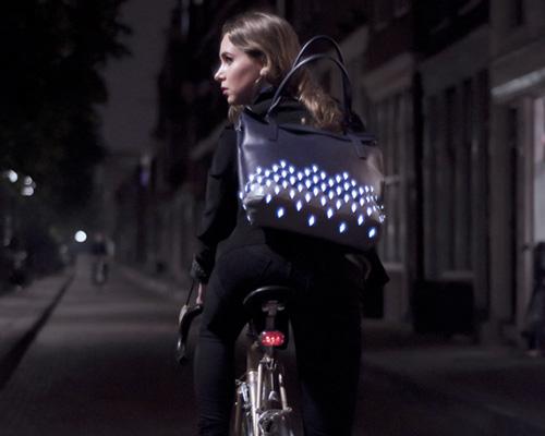 julie thissen 推出复古风格反光骑行包