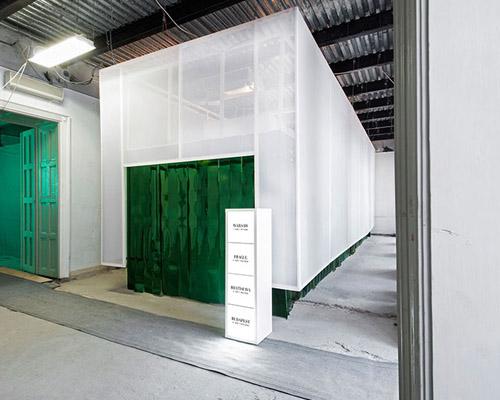 Miklo Kiss为 喜力 啤酒设计2014布达佩斯设计周的快闪店