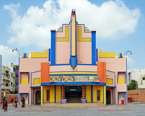 南印度活力四射的动画 电影院 建筑外墙