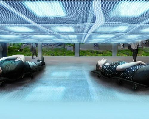 DS+R设计的 冥想玻璃盒子 ,将于卡地亚艺术中心展览