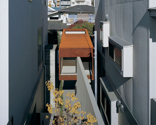 niizeki设计的混凝土墙上的KHB住宅