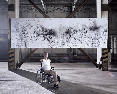 思维艺术作品让 残疾人士恢复生机