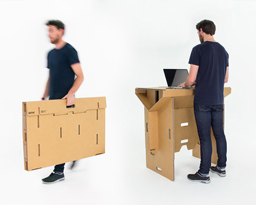 refold 纸板桌改变你的工作方式