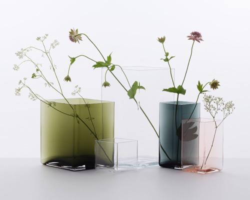 设计师 ronan与erwan bouroullec 与iittala公司联合推出ruutu花瓶