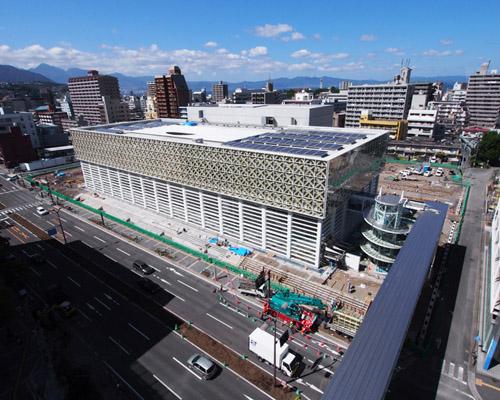 坂茂 建筑事务所设计的的日本大分县艺术博物馆即将完工