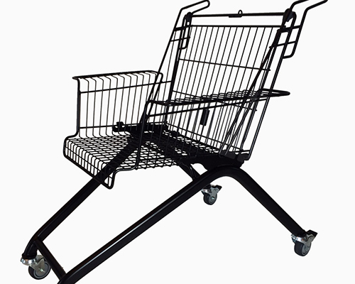 xavier degueldre 将购物车回收再利用设计成椅子