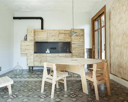 巴塞罗那当地设计师为 y?k casa + cultura 打造健康旅游