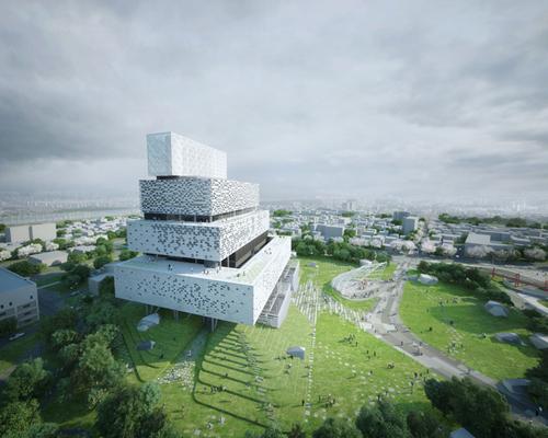 HAEAHN 和HAENGLIM合作设计的办公室/发电厂获得韩国中电力公司竞赛二等奖