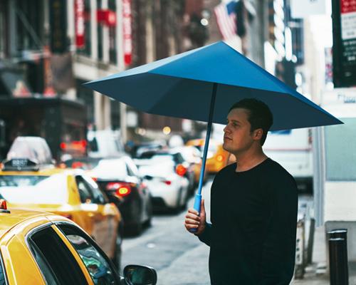 SA雨伞 运用平面张力,像折纸手工品般开合