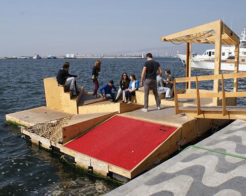 iyiofis建筑事务所微型城市化的 微宣言 :漂浮的平台模块