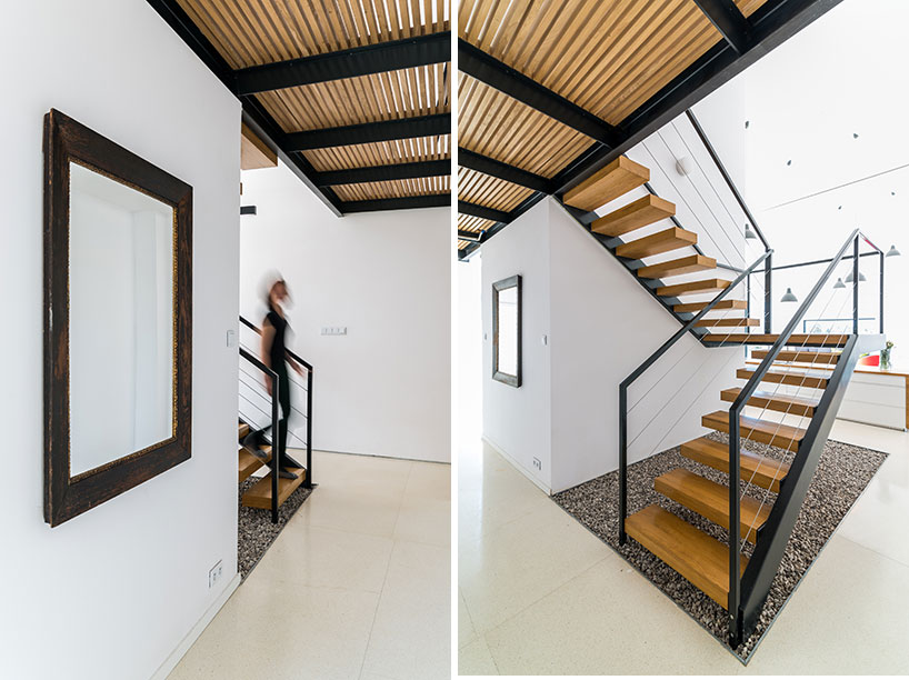 工作室应用石材与木材在山区设计了一所住宅
