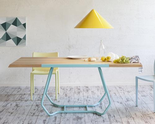 luca binaglia 为formabilio打造万用的duale双向桌子
