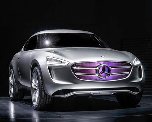 """梅赛德斯-奔驰 G级视觉概念车拥有""""太阳能电池板"""":""""Multi-voltaic""""涂料"""