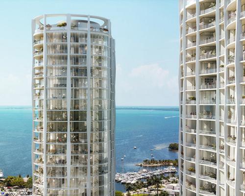 OMA在迈阿密海滨的树林公园 公寓 的最新效果图曝光