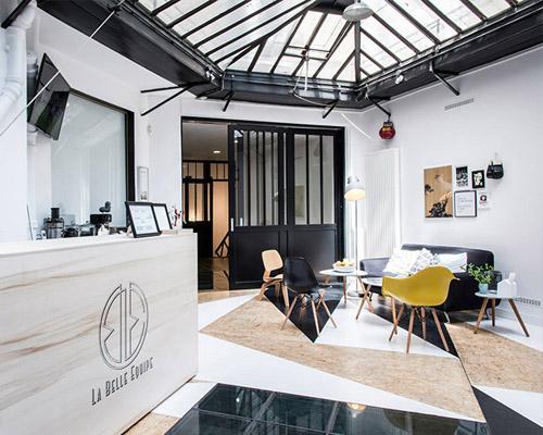spray建筑事务所在巴黎设计的la belle équipe 泰拳馆