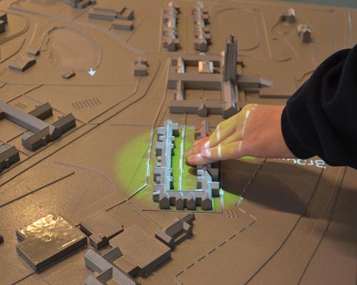 三维立体的 触摸响应式 导航地图将为视觉障碍人士提供出行便利