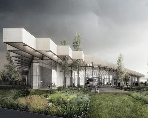 COBE事务所赢得德国 阿迪达斯 新旗舰店设计竞赛