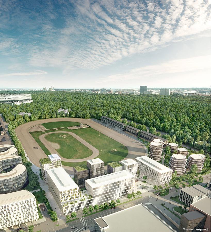 z gac所有圆柱形的建筑形态使得每一套公寓都有面向多个方向的良好图片