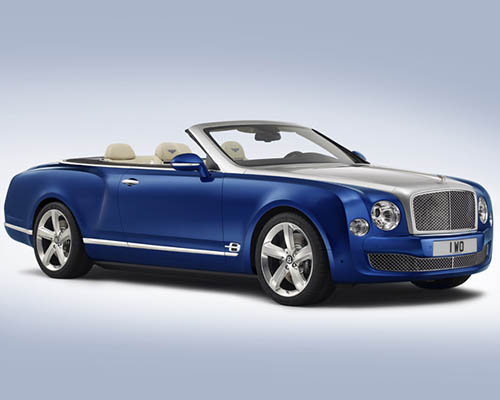 宾利 Grand Convertible:带您领略露天驾驶的极致奢华体验