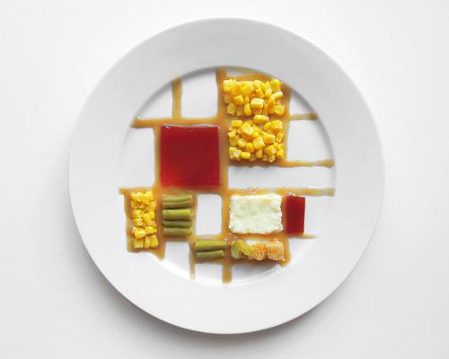 想知道艺术家们的 感恩节 晚餐如何摆盘吗