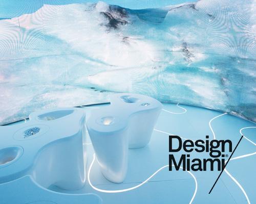 迈阿密设计展展出 jeanne gang 设计的冰川环境